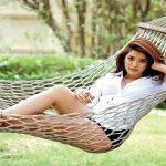 ena saha on hammock